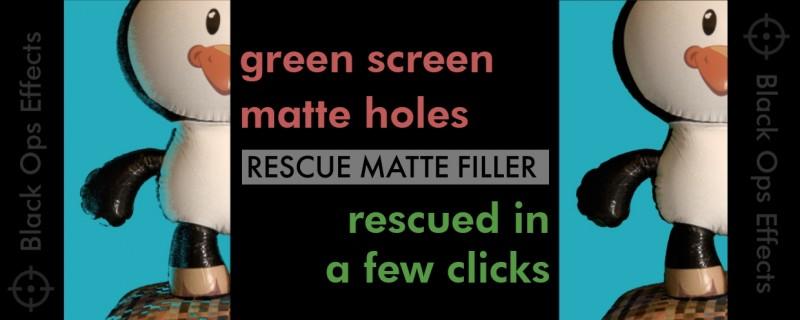 中文汉化AE/PR插件-自动修复抠像损坏还原边缘细节 Rescue Matte Filler v1.2 Win/Mac破解版+使用教程插图