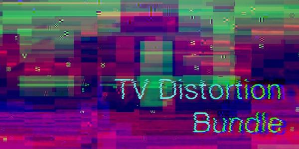 中文汉化AE/PR插件-画面像素破损信号干扰色彩分离失真插件 TV Distortion Bundle V1.1 Win/Mac破解版插图