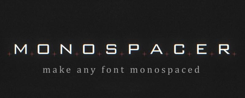 中文汉化AE插件-解决字体变化画面长宽不适配的跳动问题 Monospacer v1.1.3 Mac/Win破解版+使用教程插图