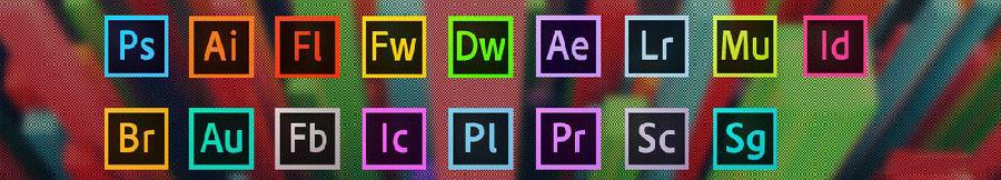 【设计软件】Adobe全套软件CS4-2021 大师+独立版本免破解一键安装 win/mac插图1
