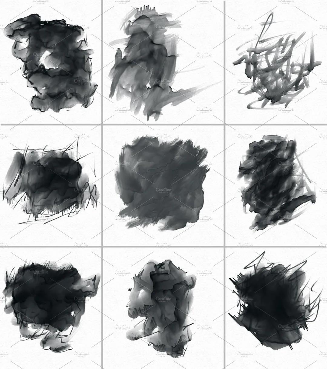 30个高品质的手绘水彩风格的PS画笔笔刷免费下载免登录插图3