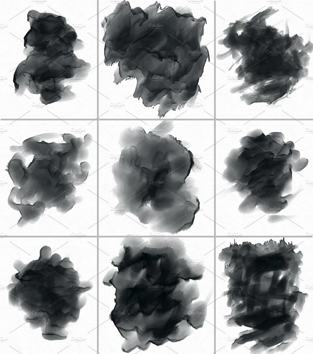 30个高品质的手绘水彩风格的PS画笔笔刷免费下载免登录插图4