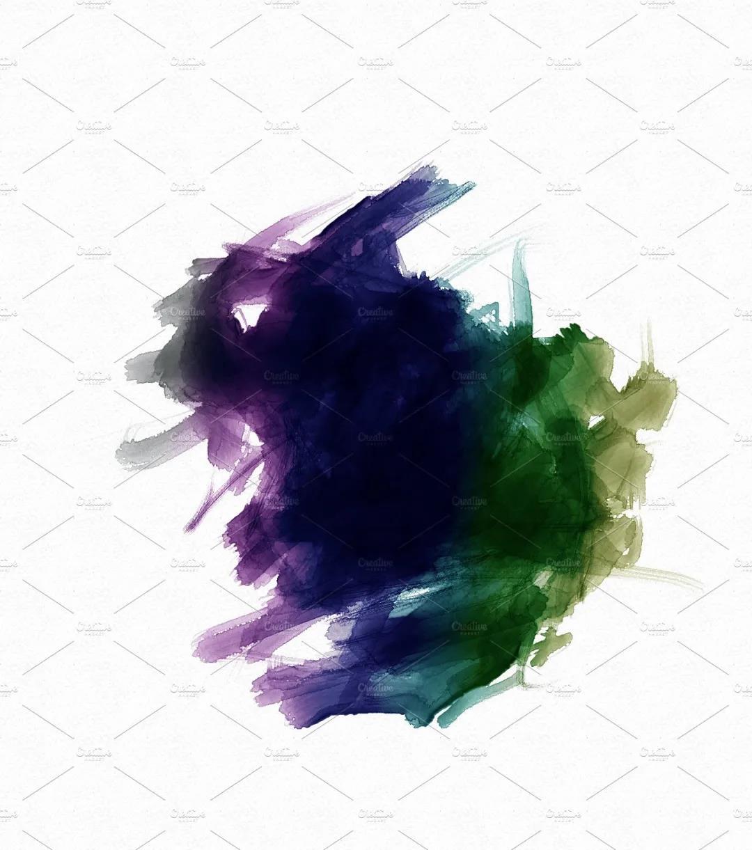 30个高品质的手绘水彩风格的PS画笔笔刷免费下载免登录插图6