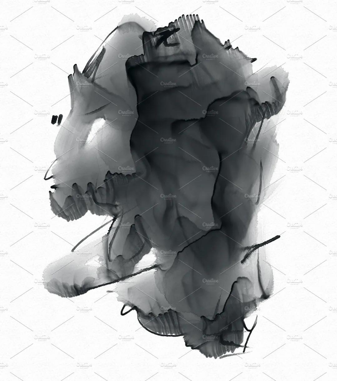 30个高品质的手绘水彩风格的PS画笔笔刷免费下载免登录插图7