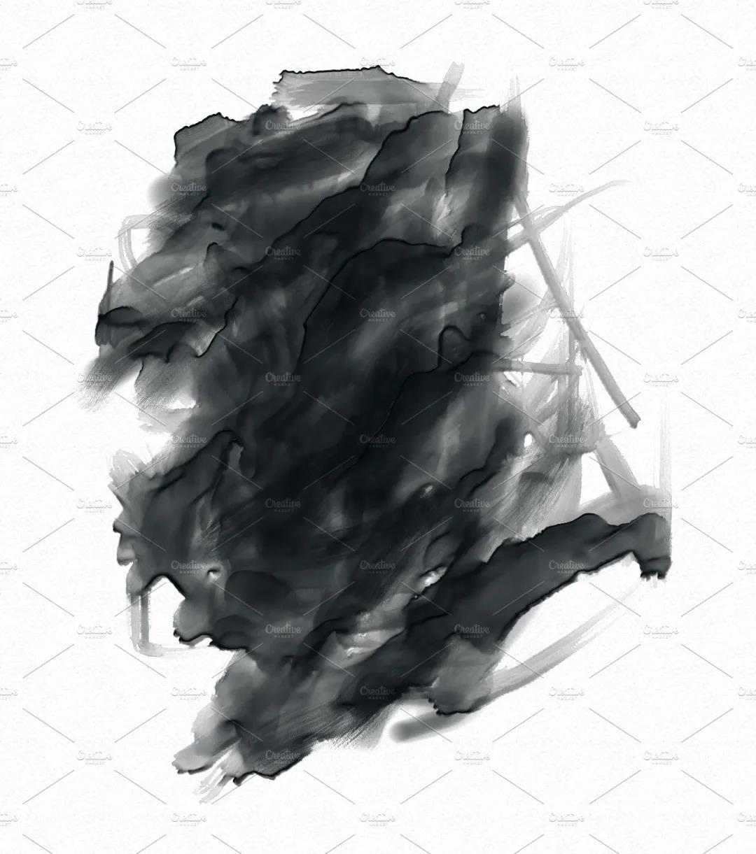 30个高品质的手绘水彩风格的PS画笔笔刷免费下载免登录插图8