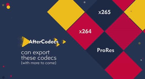 中文汉化AE/PR/AME插件-特殊编码加速输出渲染插件AfterCodecs v1.9.9 Win已注册版插图