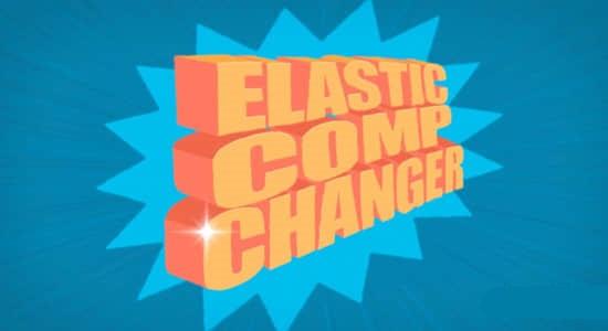 AE脚本-等比例缩放图层合成关键帧持续时间 Elastic Comp Changer v1.3插图