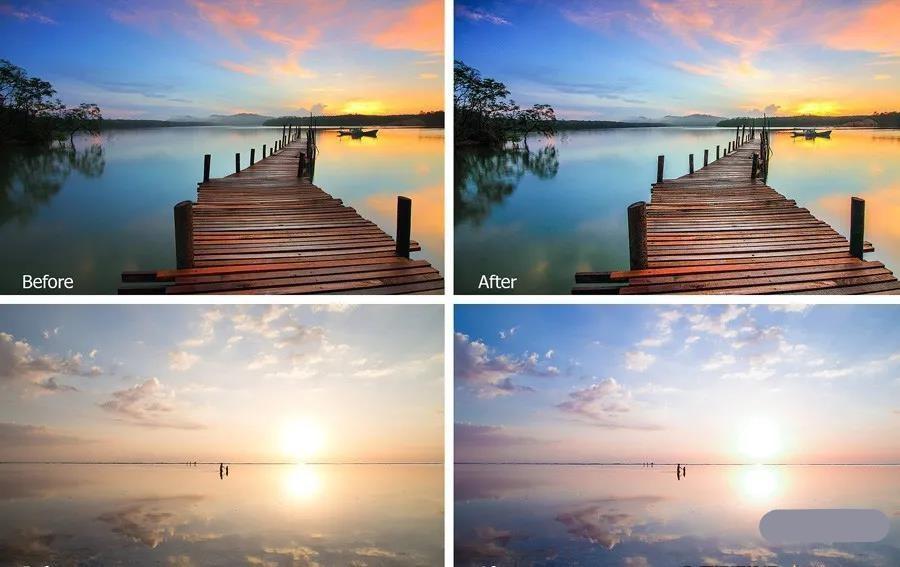 【预设】日出黎明风景摄影后期Lightroom预设免登录下载插图1