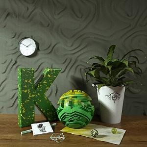 【模型】c4d盆栽花草 艺术摆件装饰品模型OC材质插图5