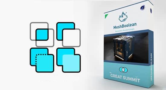 C4D插件-方便快捷的多边形模型布尔工具 TGS MeshBoolean v1.8 Win/Mac插图